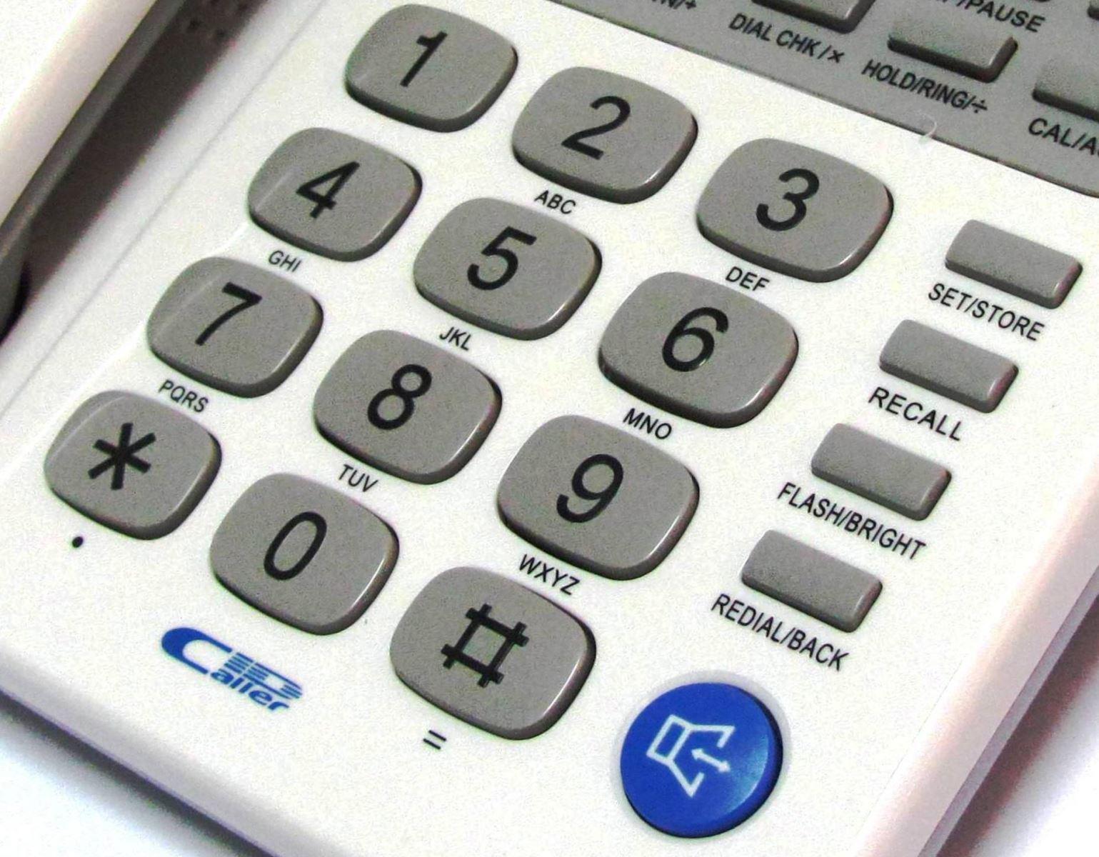 Các phím chức năng điện thoại Panasonic KX-TSC-92CID