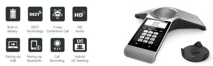 Điện thoại hội nghị và tai nghe VoIP