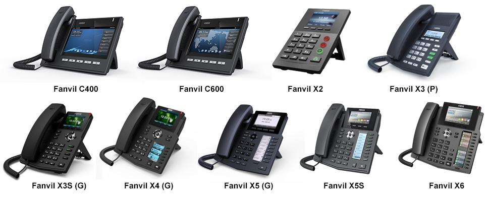 nâng cấp firmware cho điện thoại IP Fanvil