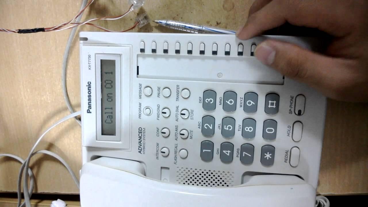 Các thiết bị cần thiết cho việc lắp tổng đài panasonic
