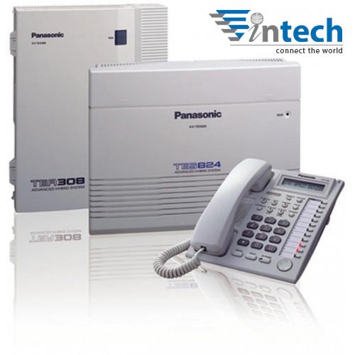 Tổng đài Panasonic KX-TES824 - 3 vào 16 máy lẻ