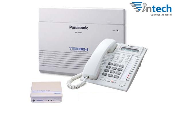Tổng đài Panasonic KX-TES824 - 6 vào 24 máy lẻ