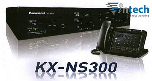 Tong dai Panasonic KX-NS300 cau hinh 12CO - 16EXT