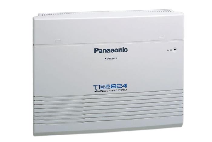 Tổng đài panasonic KX-TES824 cấu hình 6 vào 16 máy nội bộ