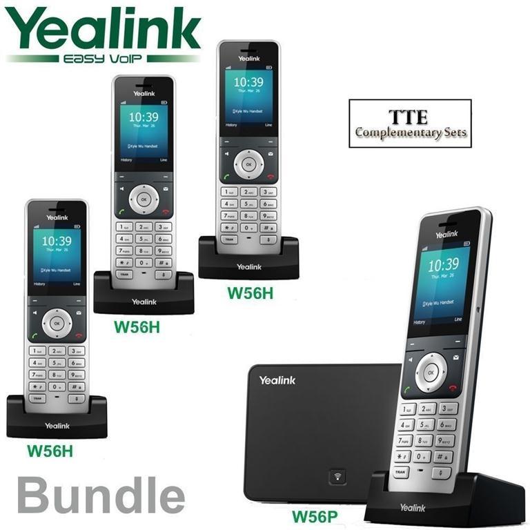 Điện thoại IP không dây Yealink W56P