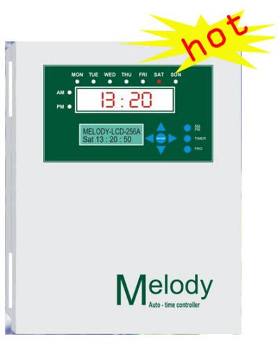 Trung tâm báo giờ tự động Melody LCD-256A