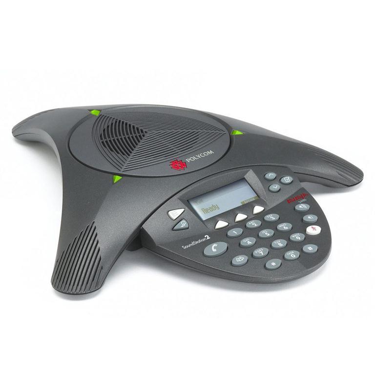 Điện thoại hội nghị Polycom SoundStation SoundStation 2 DUO – không mở rộng mic