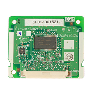 KX-TE82493-Card hiển thị số 3 kênh cho TEB308 KX-TES824