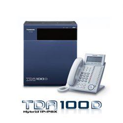 Tổng đài điện thoại Panasonic KX-TDA100D – 8 vào 40 máy lẻ