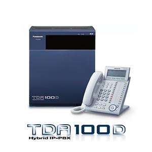 Tổng đài điện thoại Panasonic KX-TDA100D – 8 vào 96 máy lẻ