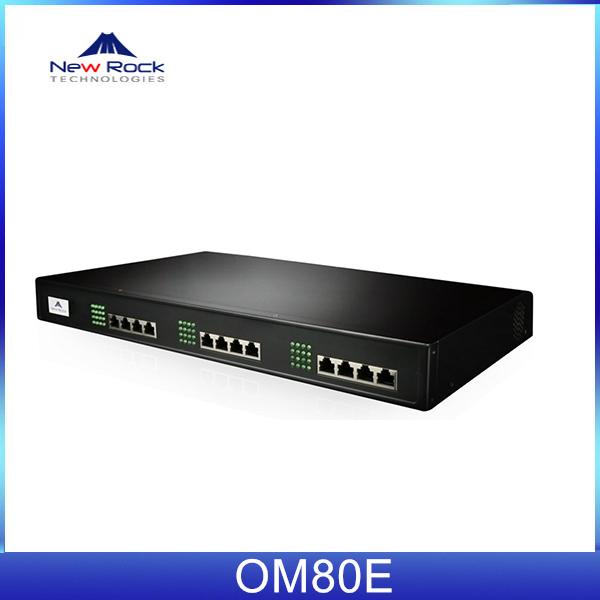 Tổng đài ip newrock OM80E-32S tích hợp 32 cổng analog (FXS)