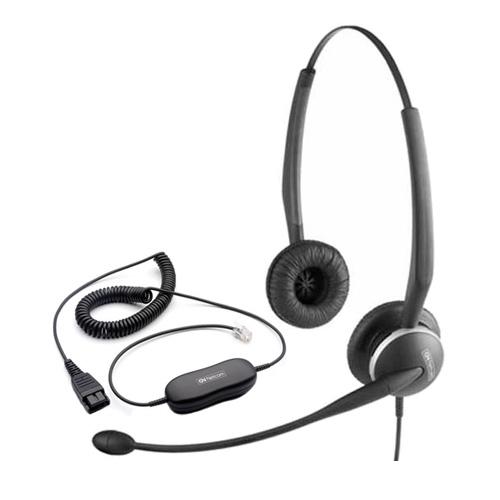 Tai nghe Jabra GN2125 Duo - chuẩn QD 2 bên tai