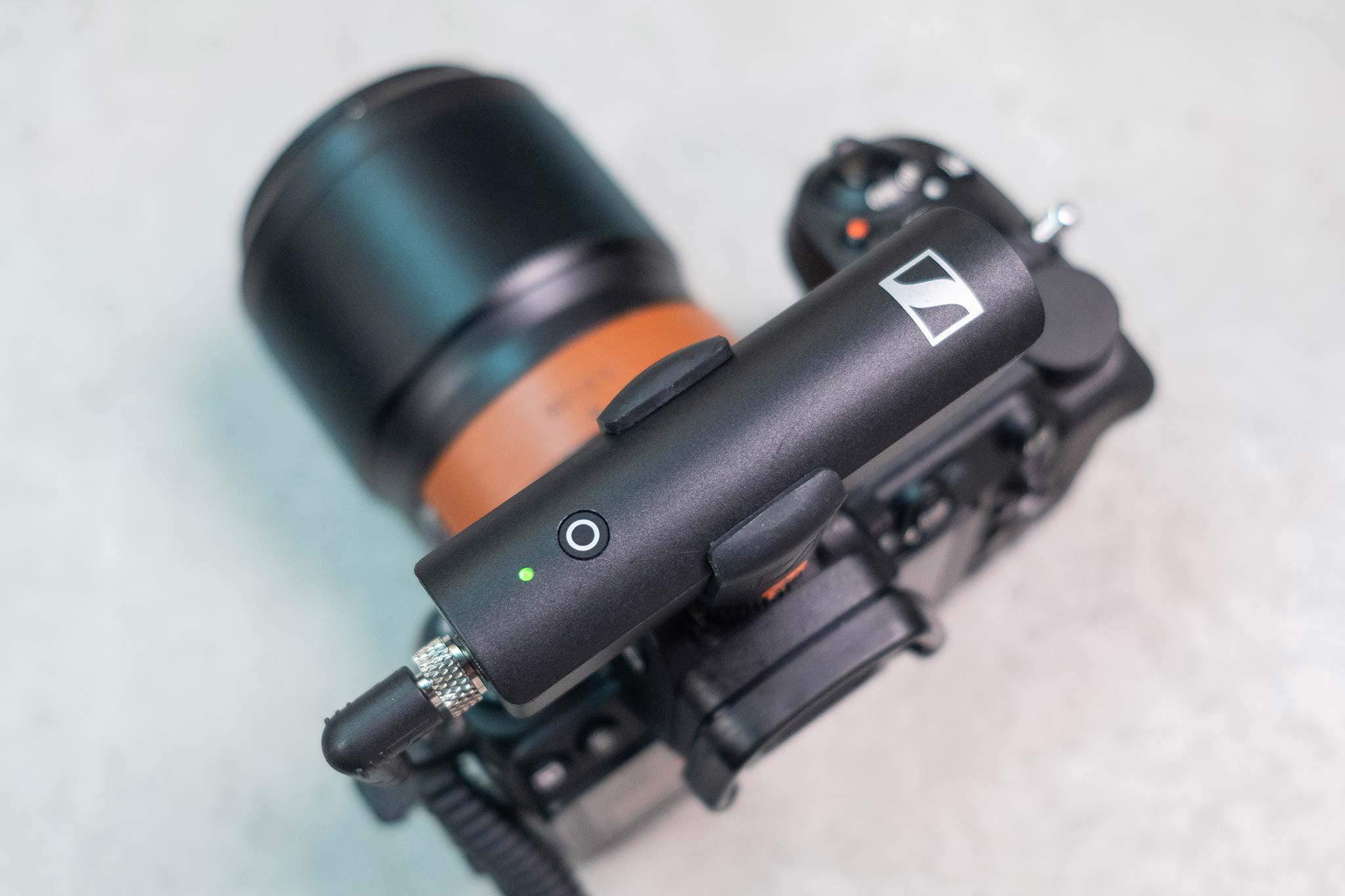 Sennheiser XSW-D:  thu âm không dây tiện dụng