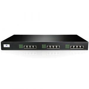 Tổng đài IP Newrock OM80E-NA chưa có cổng FXO và FXS