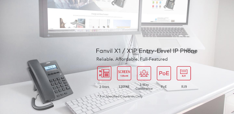Fanvil X1/X1P