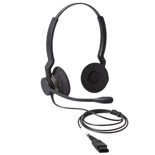 Tai nghe Jabra Biz 2300 Duo QD loại 2 tai