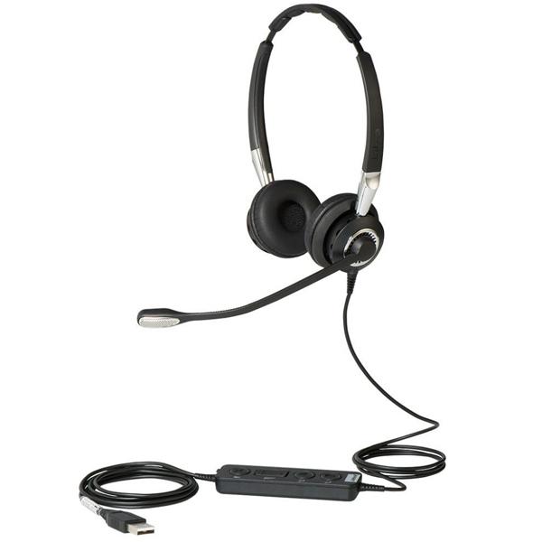 Tai nghe Jabra Biz 2400 Duo cáp nối USB UC&MS loại 2 tai