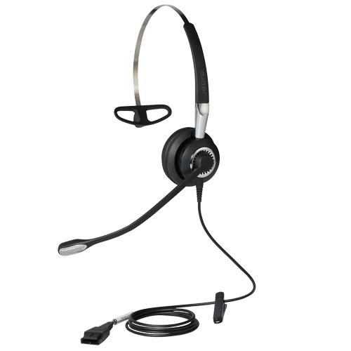 Tai nghe Jabra Biz 2400 Mono cáp nối QD loại 1 tai