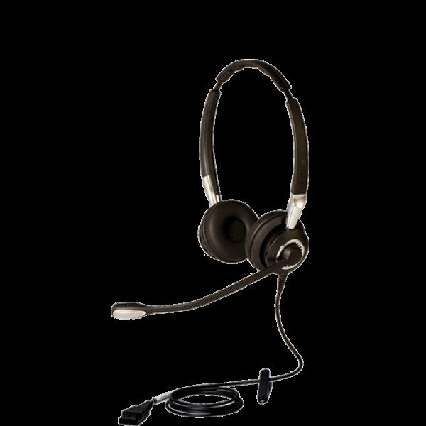 Tai nghe Jabra Biz 2400 cáp nối QD Duo loại 2 tai