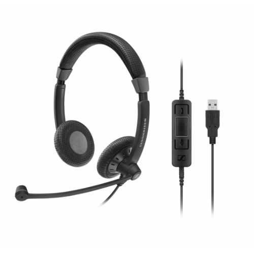 Tai nghe Call center Sennheiser SC 75 USB CTRL
