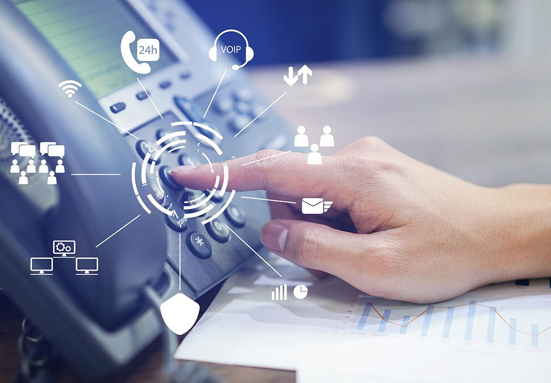 Cách thức hoạt động của điện thoại cố định IP phone