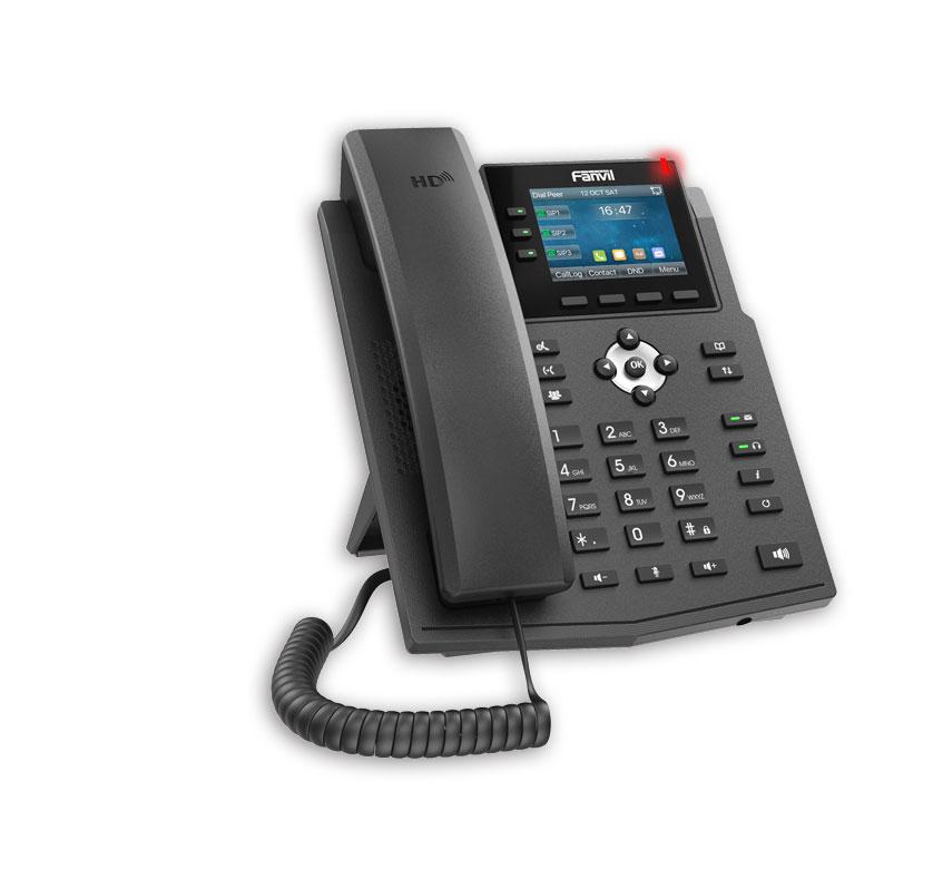Điện thoại VoIP Fanvil X3U ưu điểm vượt trội
