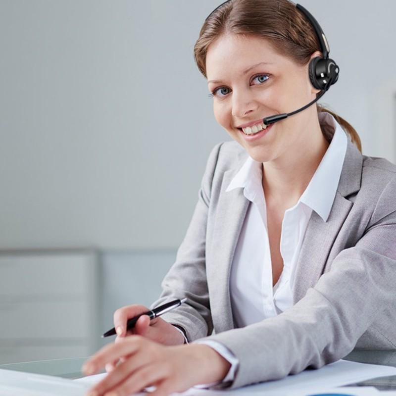 Mua tai nghe bluetooth call center tổng đài viên chất lượng