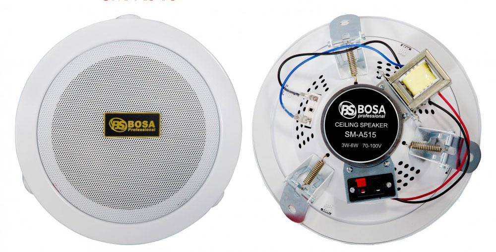 BOSA SM A515 trải nghiệm âm thanh chân thực và sống động