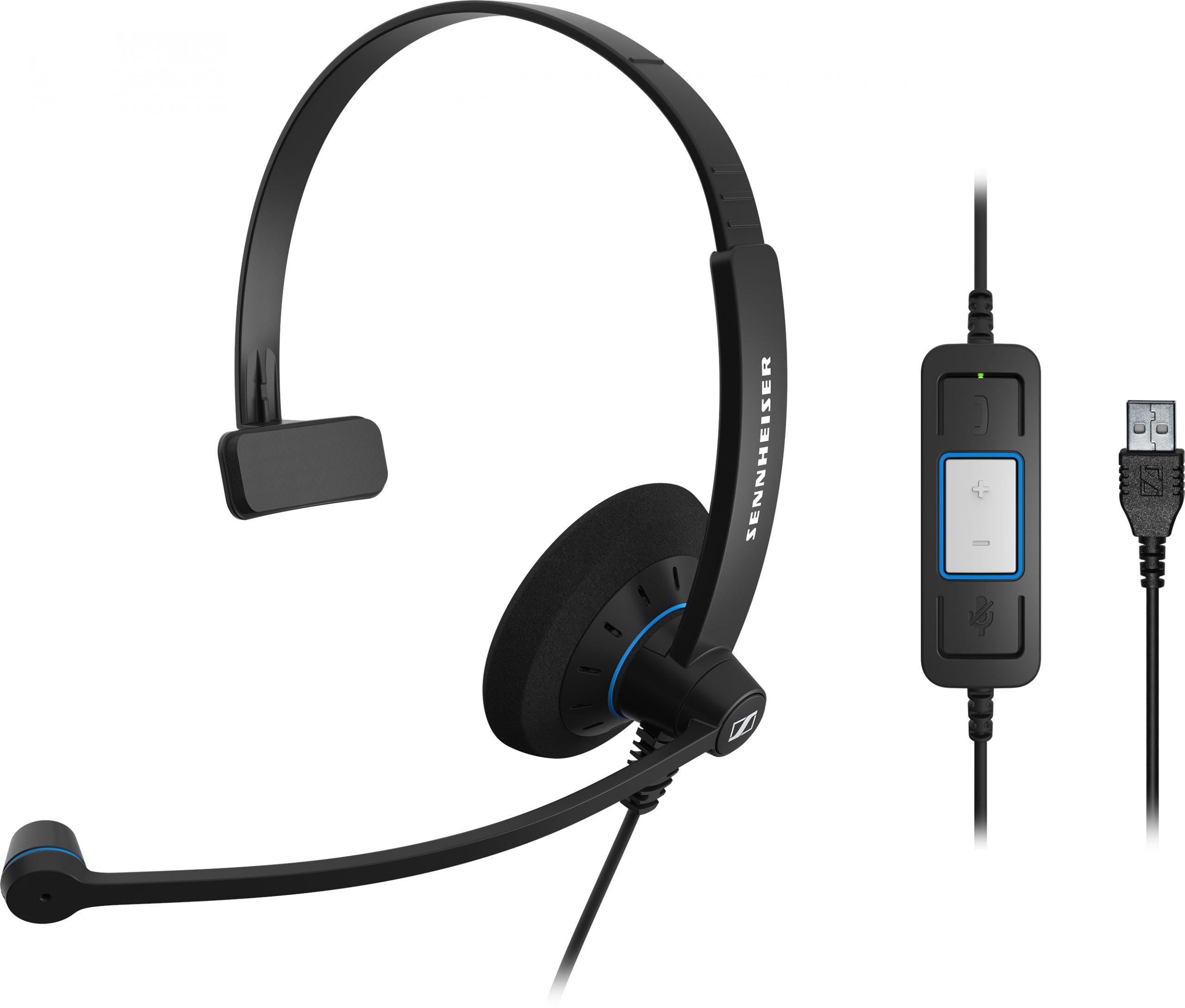Trải nghiệm đẳng cấp âm thanh chỉ có ởTai nghe Sennheiser SC 30 USB CTRL