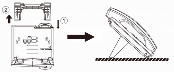 Thảo vỏ hộp và lắp đặt máy điện thoại Fanvil X1S/X1SP