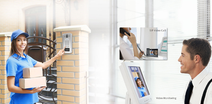 Fanvil i33V / i33VF - Điện thoại cửa có hình
