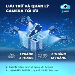 XCloudCam Spark – Lưu trữ dữ liệu camera an toàn bảo mật nhất